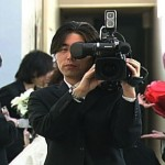 ビデオ撮影シーン、結婚式ビデオ