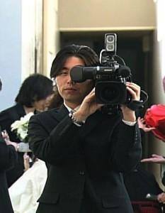 ビデオ撮影シーン