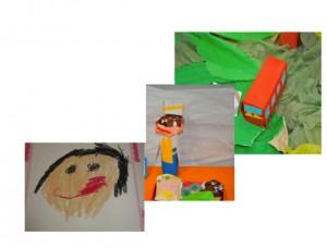 幼稚園作品